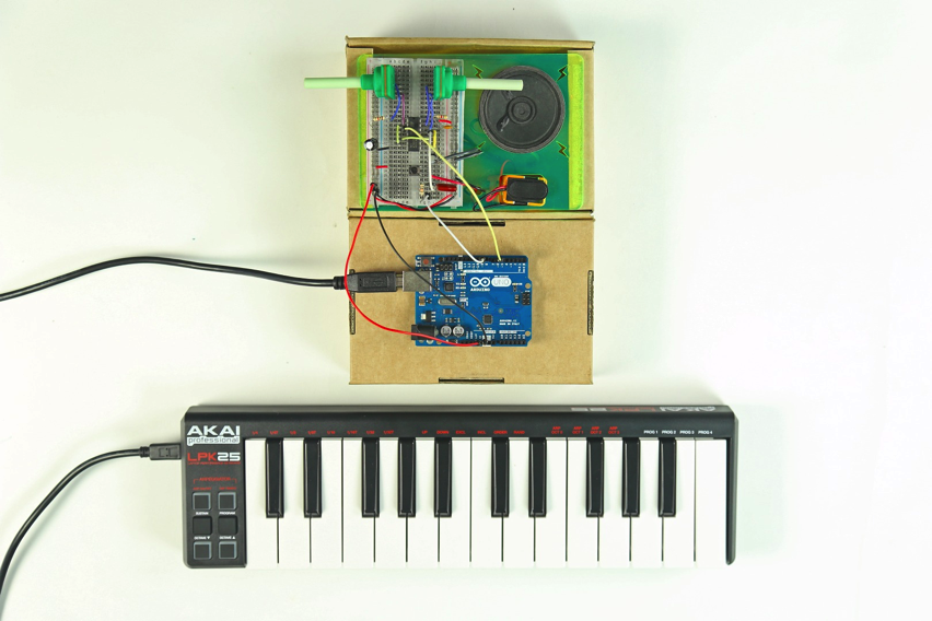 Make A DIY Synth MIDI Control With Arduino « Adafruit Industries