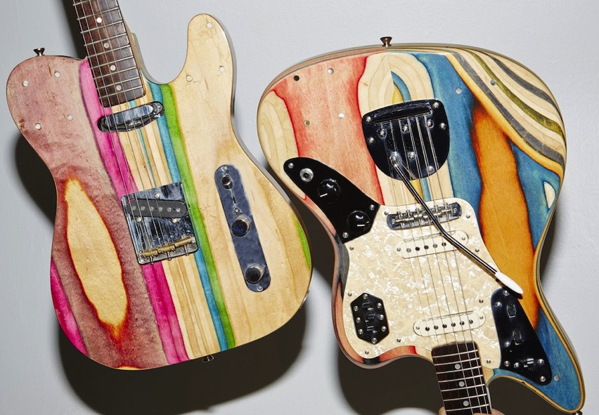 Prisma Skateboard Guitar
