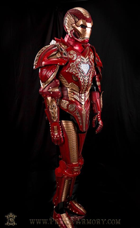 Tony Stark Would Be Envious of This Asgardian Iron Man Armor