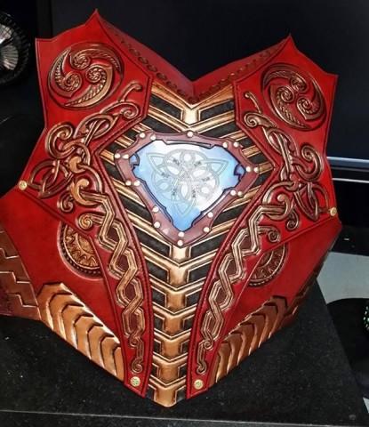 asgardian iron man armor 2