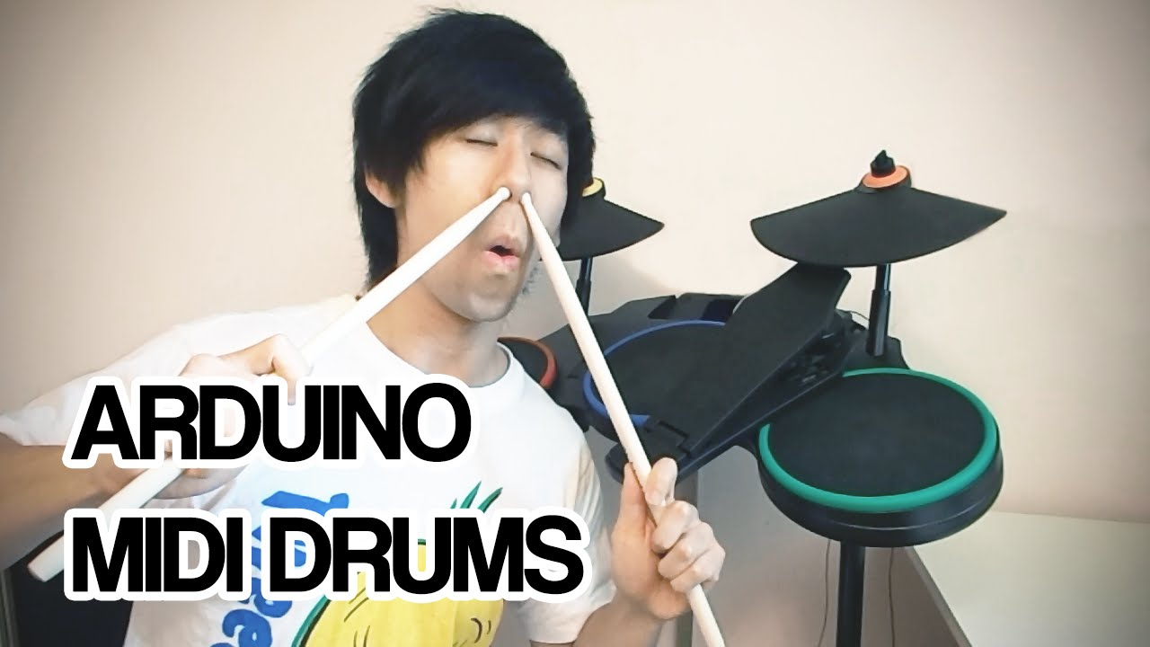 Convert Rockband Controllers To MIDI Drums #MusicMonday