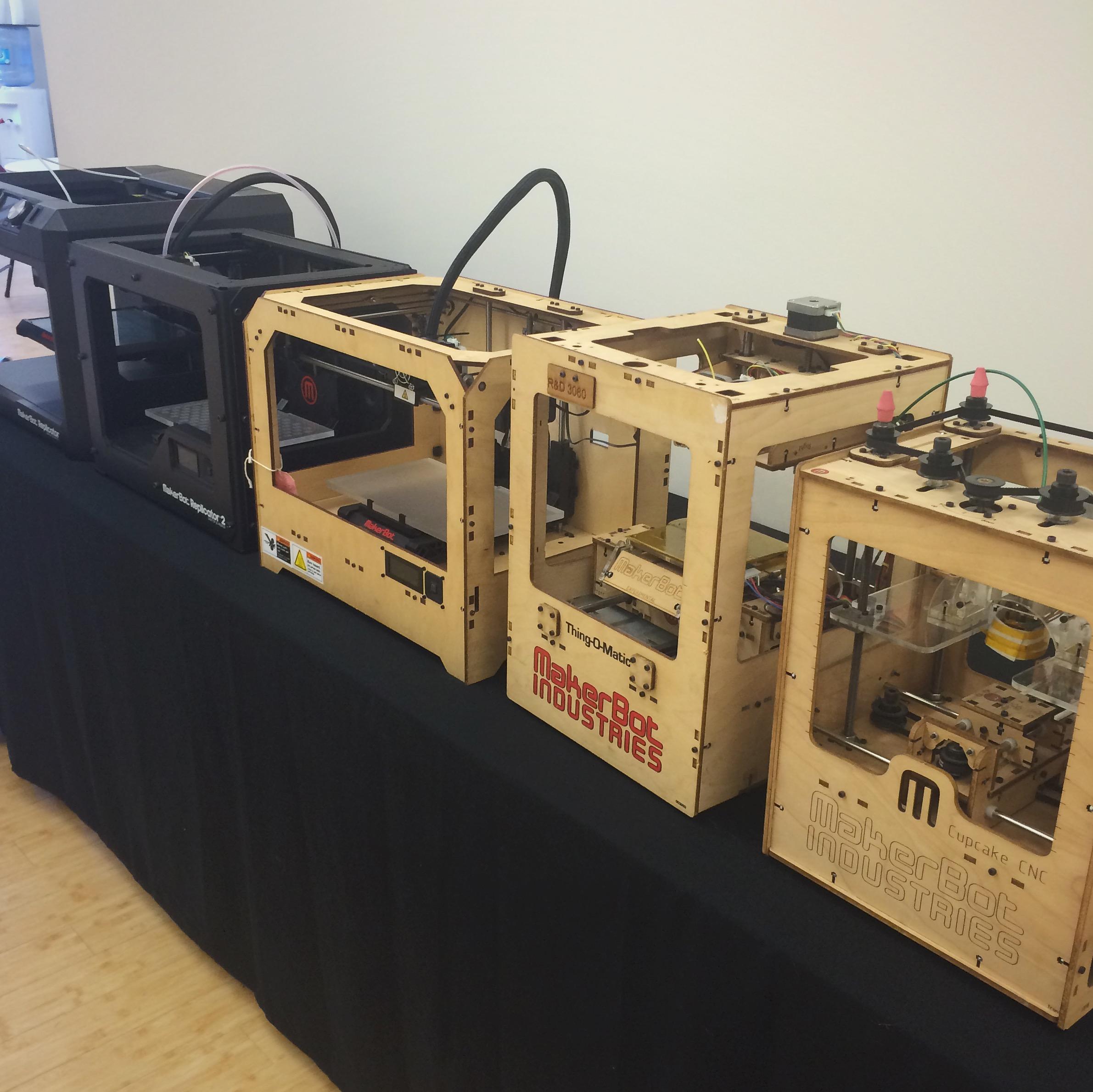 makerbot factory printer evolution 1
