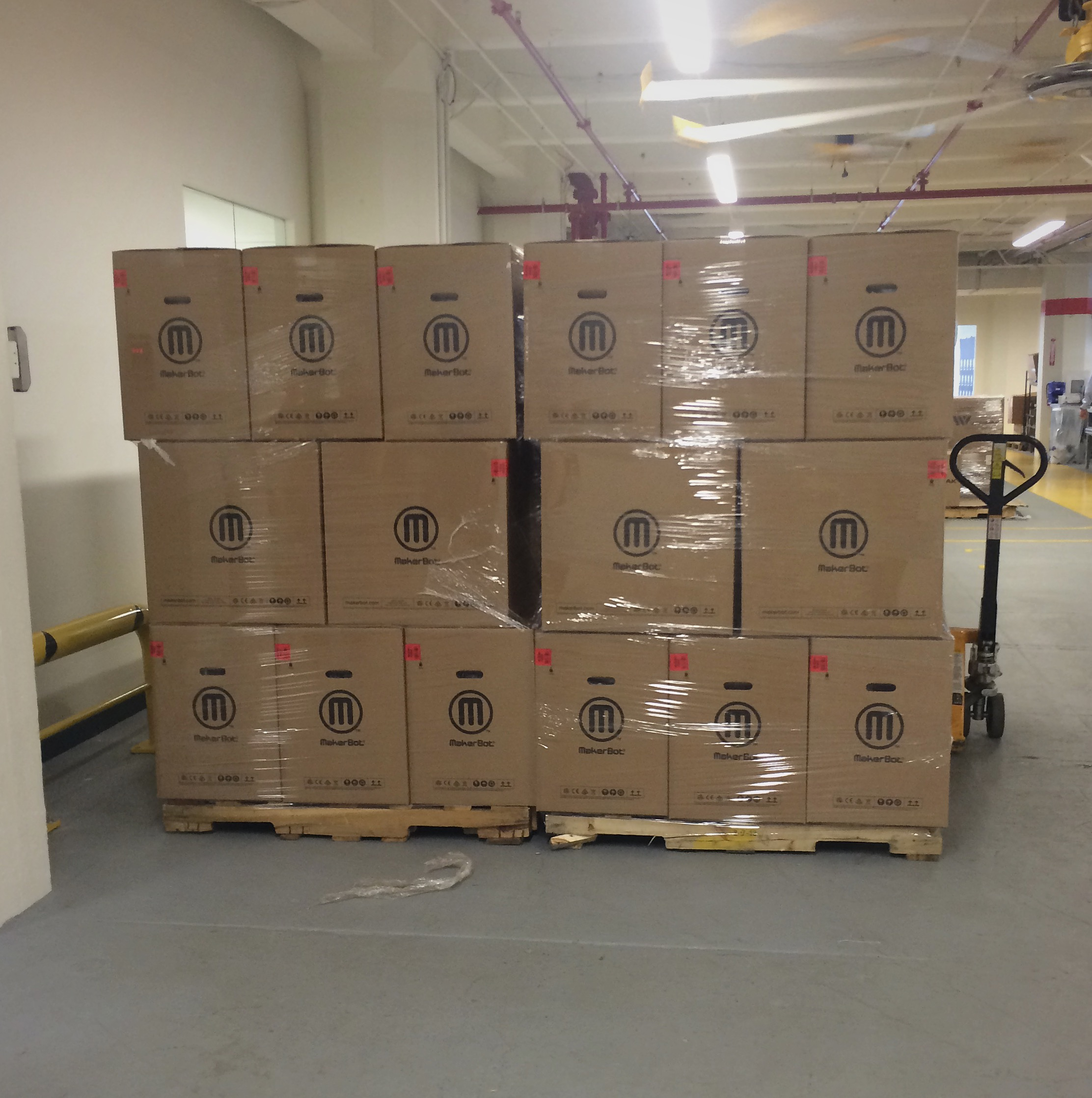 makerbot factory shipping