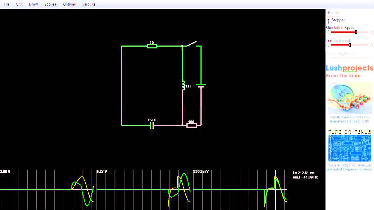 open source web based circuit simulator adafruit. Black Bedroom Furniture Sets. Home Design Ideas