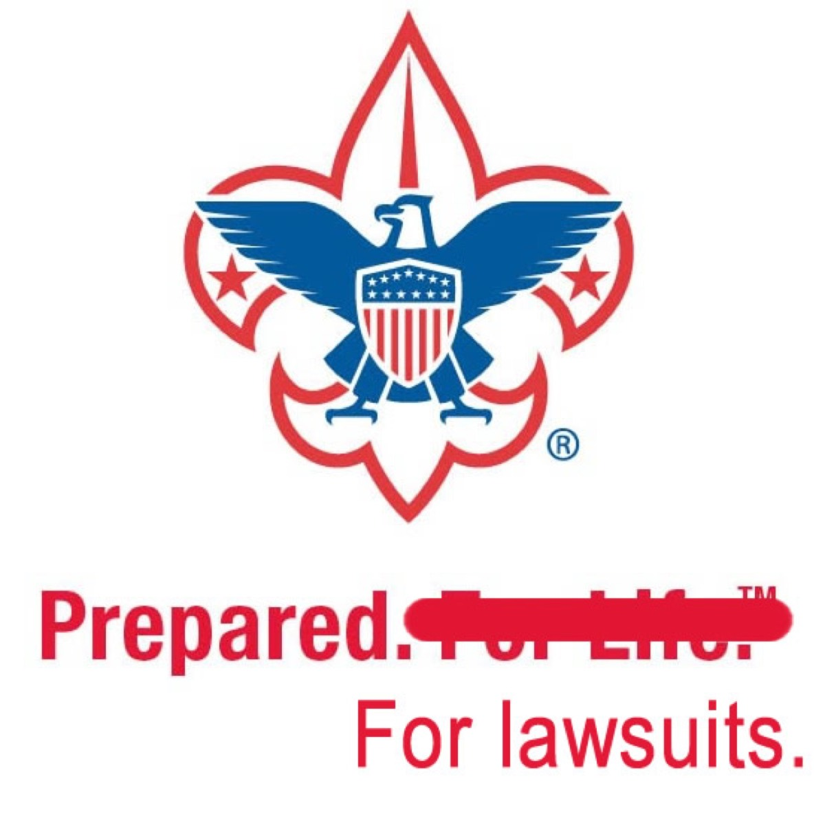 Prepared To Sue Hacker Scouts Boyscots- Of Amercia