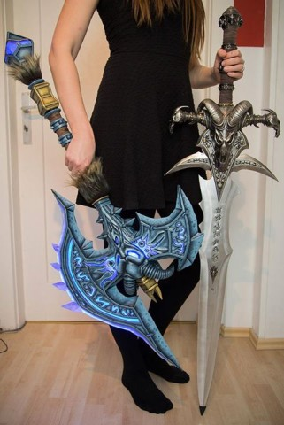 world of warcraft axes