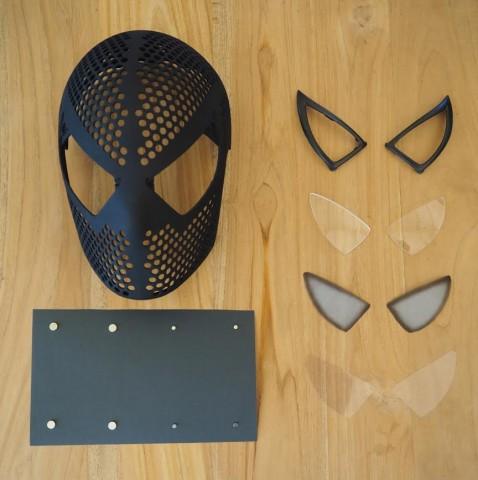 3d printed Spider-Man Mask 2