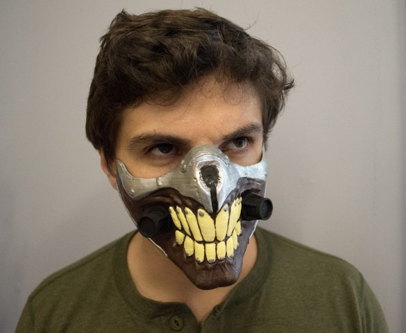 3d printed immortan joe mask 2