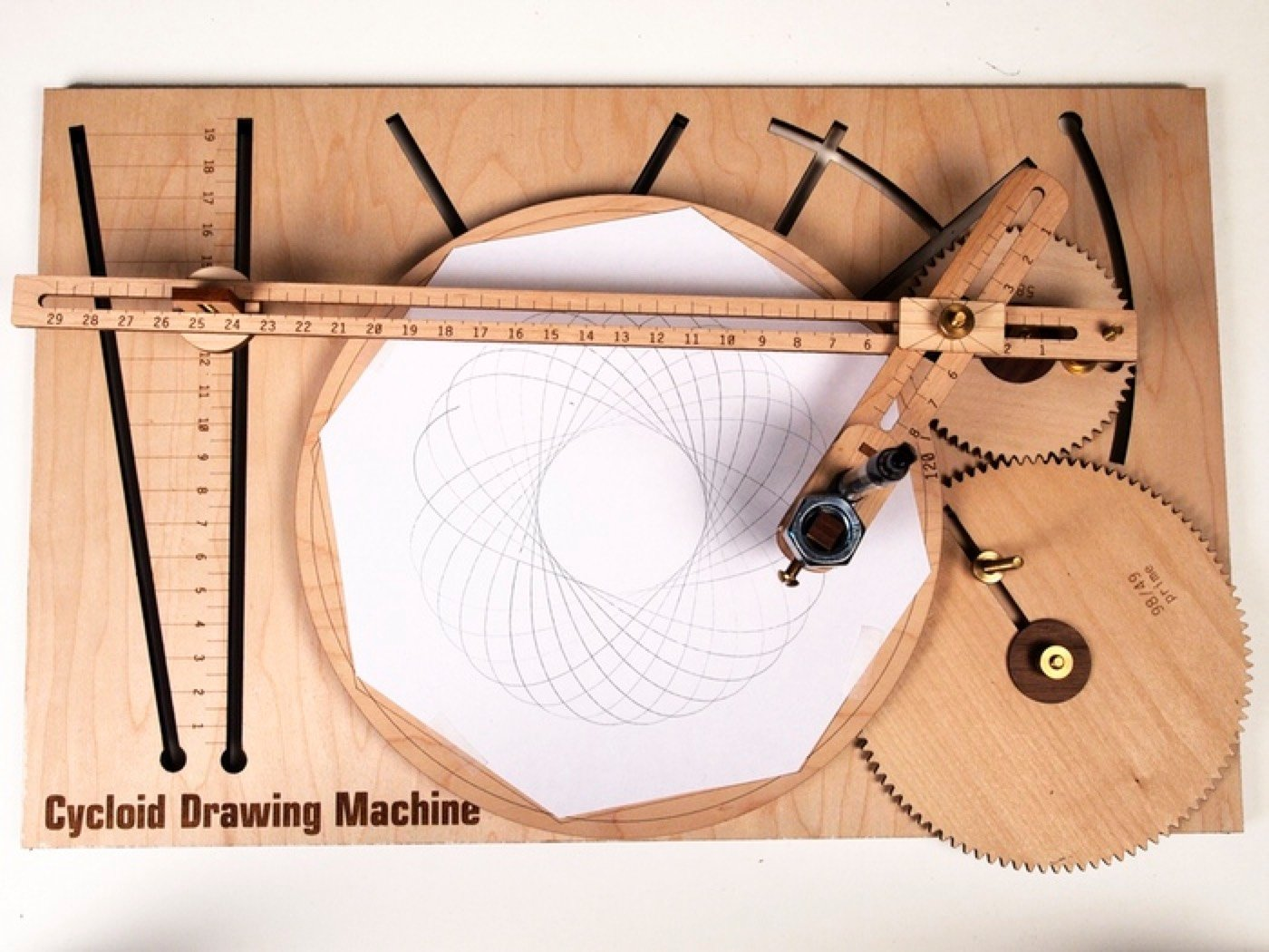 Cycloid Drawing Machine Cdms Built With Processing And