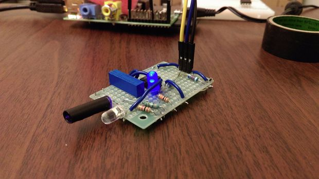 DIY Infrared Motion Sensor System for Raspberry Pi