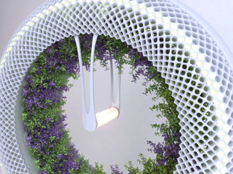 Revolutionary Green Wheel hydroponic garden grows food faster with NASA technology NASA Inspired Green Wheel Inhabitat Sustainable Design Innovation Eco Architecture Green Building