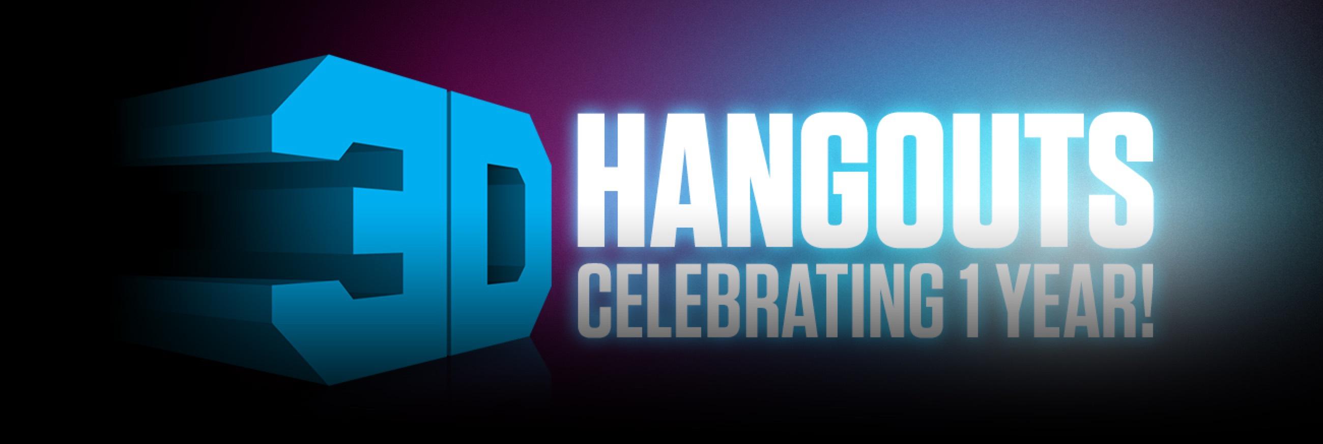 Adafruit 3D Hangouts 1Yr Blog