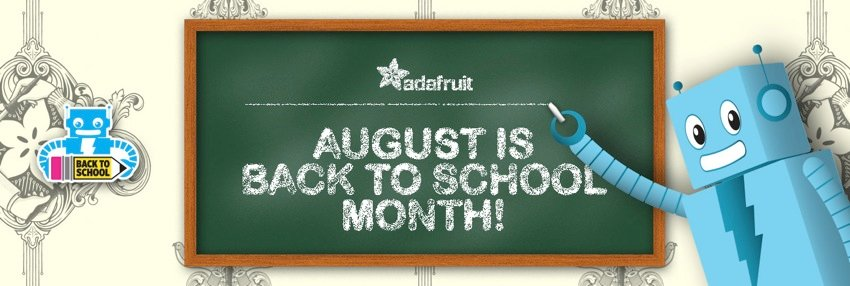 Adafruit BackToSchool hero update