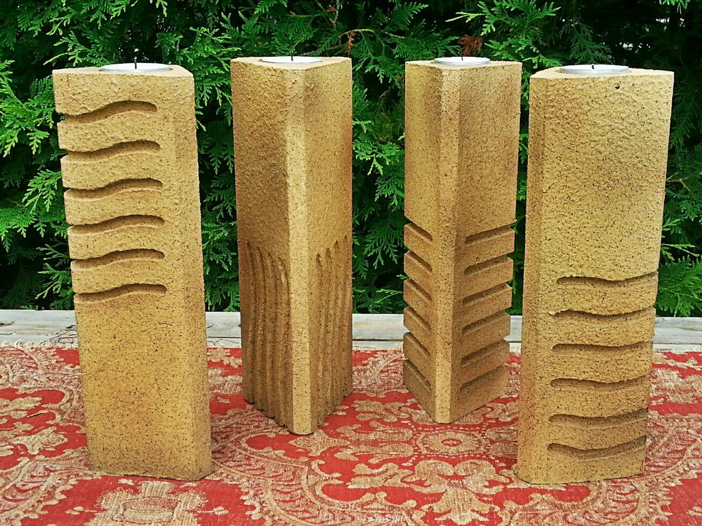 The Fifth Element - Element Stone-Inspired Candle Holders ...