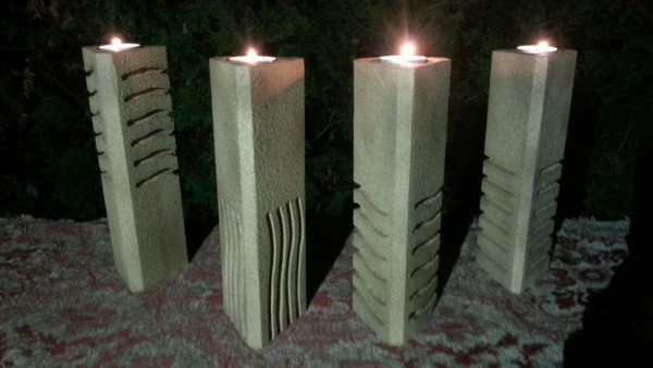 fifth element candle holders 2