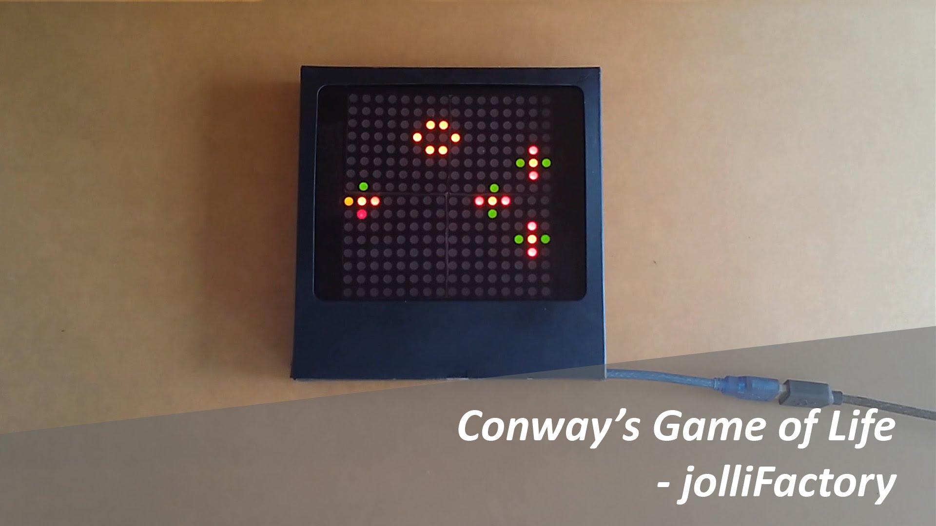 Make An Arduino Based LED Matrix Game Of Life « Adafruit