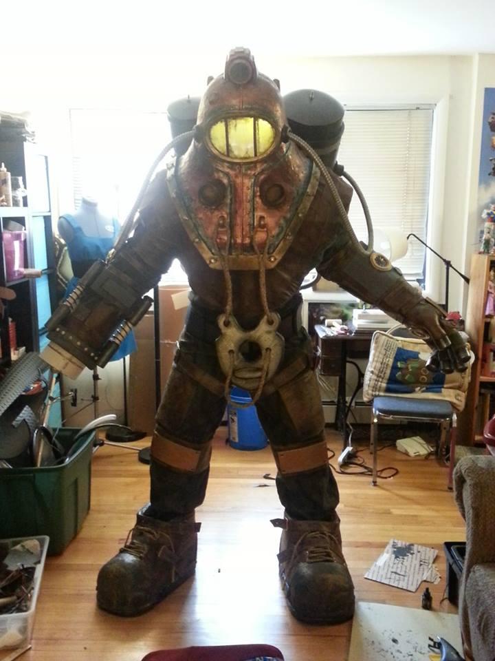 BioShock 2 Subject Delta Costume Adafruit Industries
