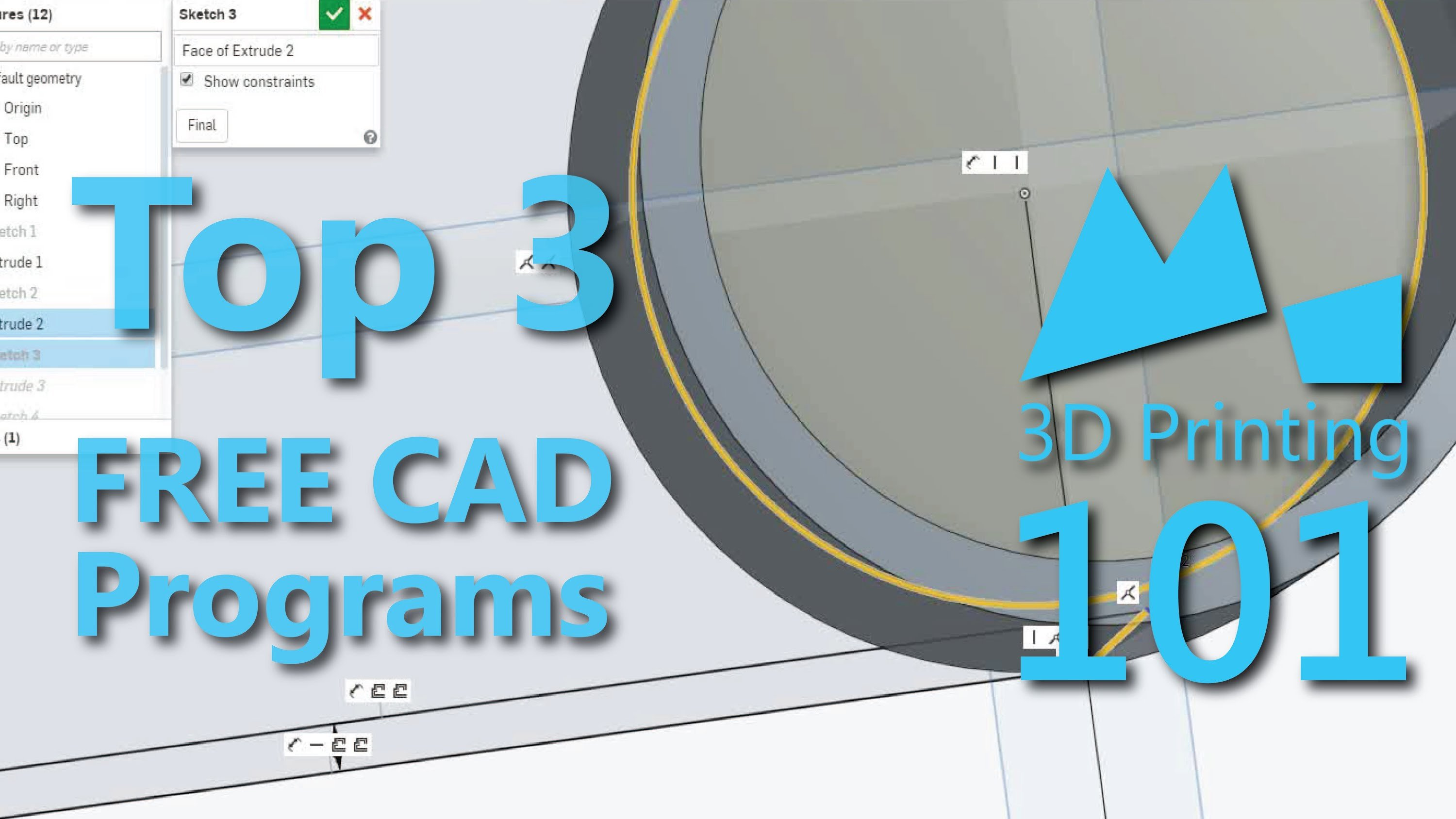 Top 3 free cad for 3dprinting adafruit industries 3d printer design software