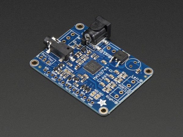 MAX9744 Stereo Amplifier I2C Volume Control With Python