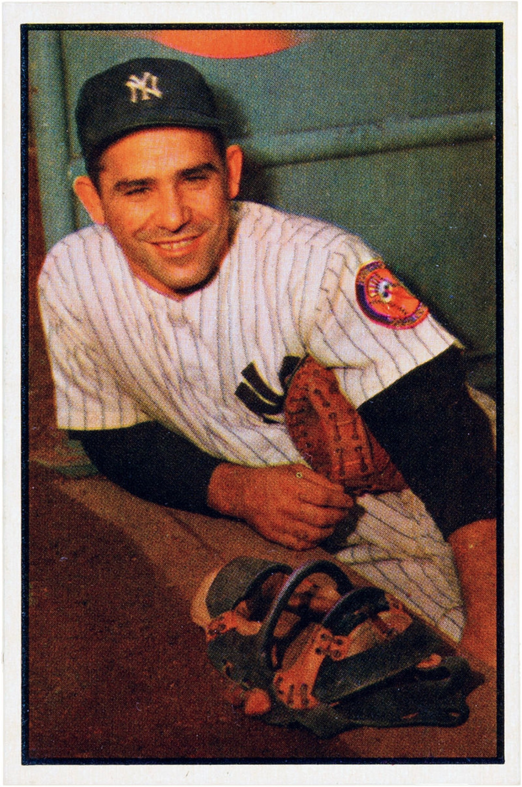 1953 Bowman Yogi Berra