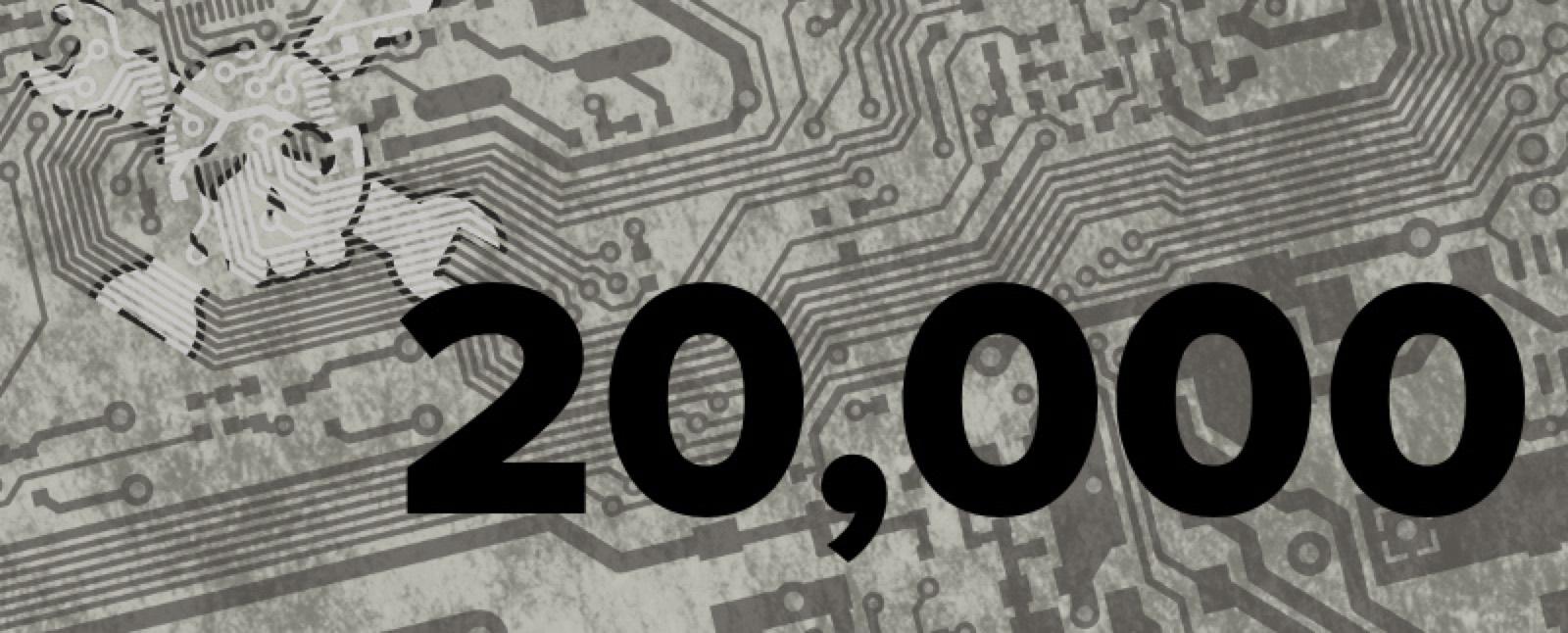 20000 Posts On Hackaday1