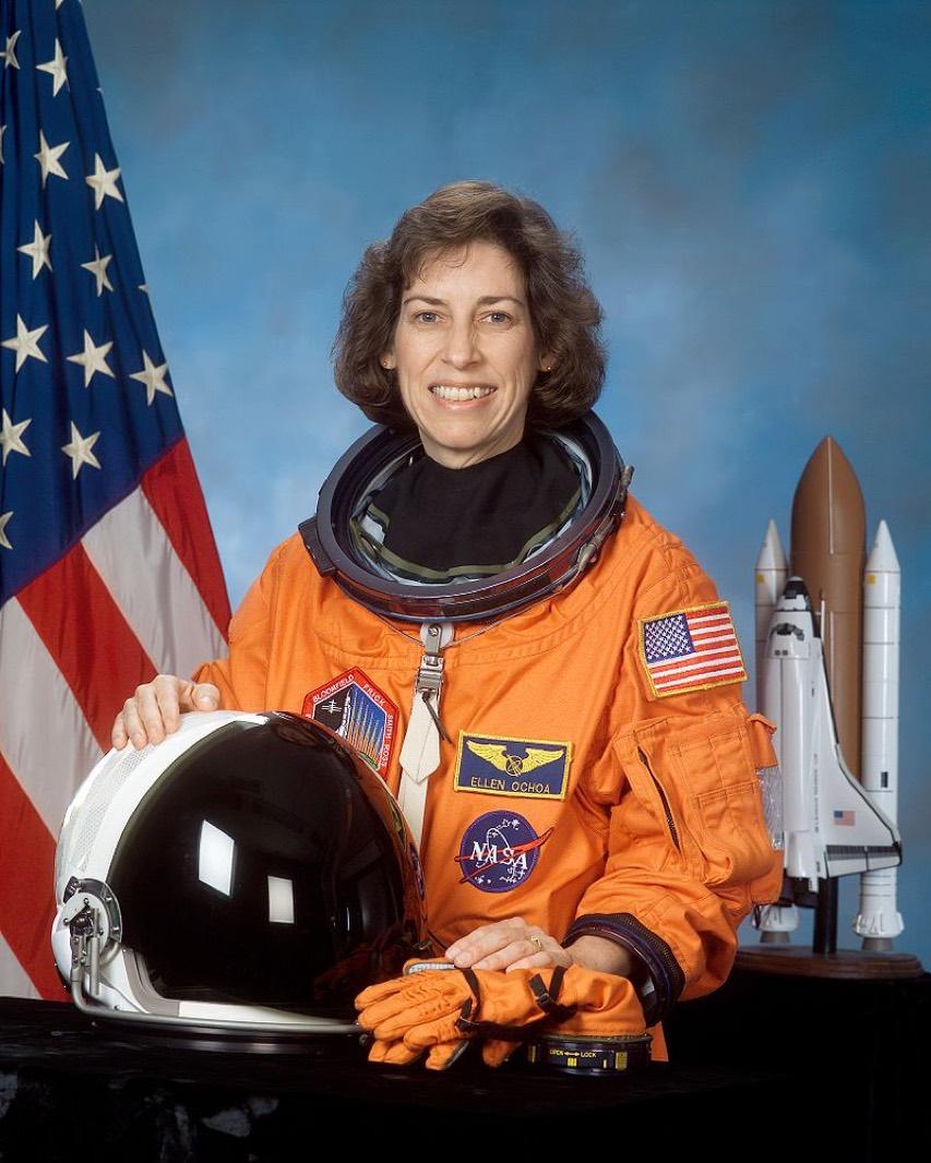 ellen ochoa on space shuttle discovery -#main