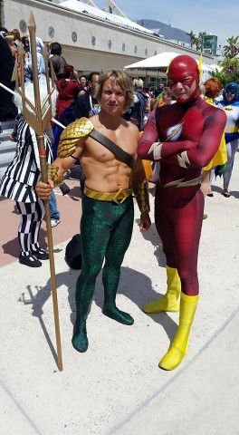 Aquaman cosplay 1
