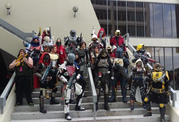 Destiny group cosplay