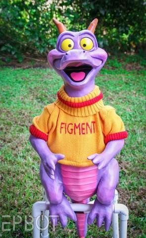 Dreamfinder Figment costume 2