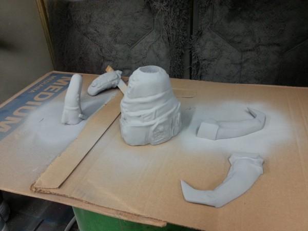 Furiosa Cosplay prosthetic 2