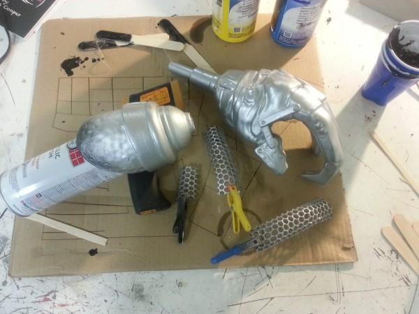 Furiosa Cosplay prosthetic 3