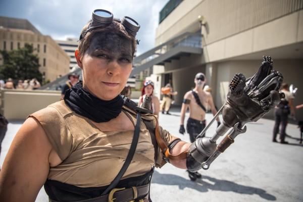 Furiosa Cosplay prosthetic