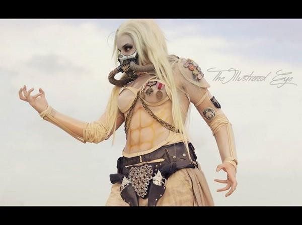 Genderswapped Immortan Joe cosplay 1
