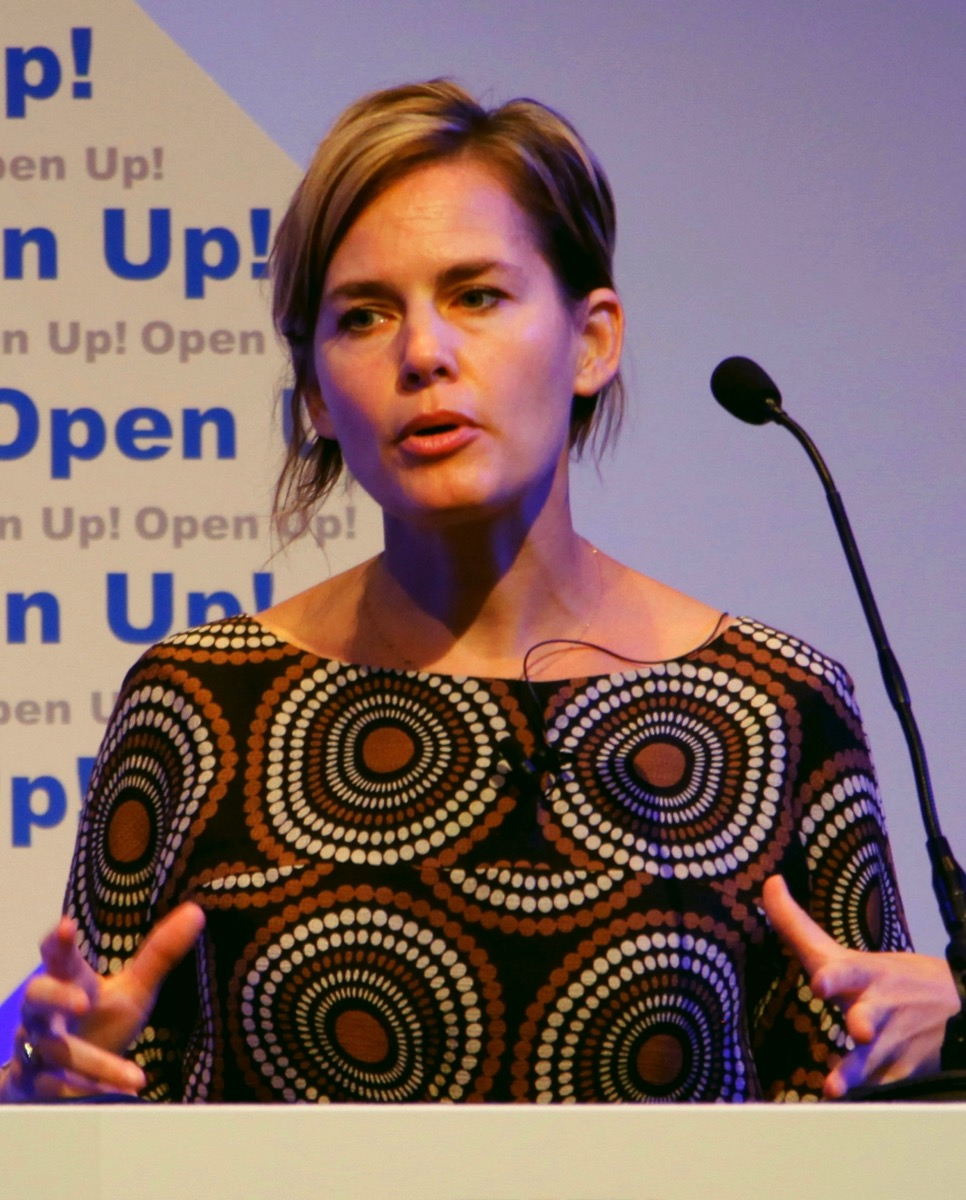 Jennifer Pahlka of Code for America speaking at the opening of Open Up