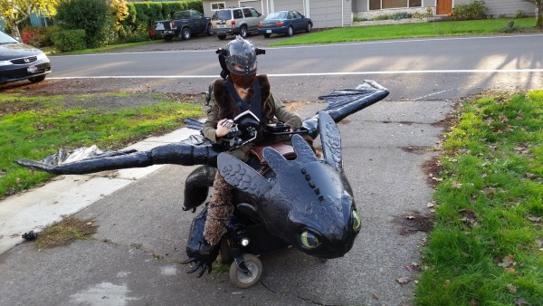 Magic Wheelchair Toothless