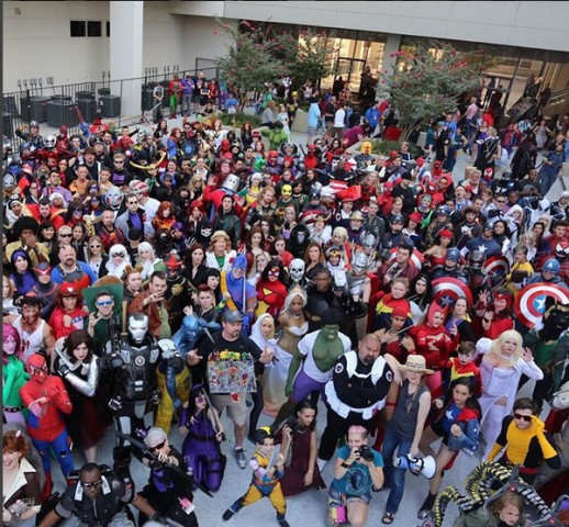 Marvel group cosplay