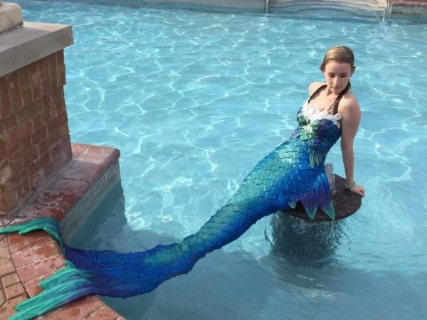 Mermaid tail DIY 1