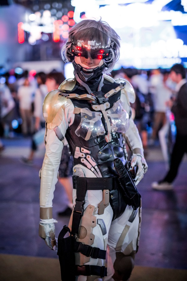 Impressive Metal Gear Raiden Cosplay  U00ab Adafruit Industries  U2013 Makers  Hackers  Artists  Designers