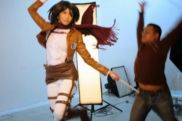 Mikasa Attack on Titan Cosplay 2