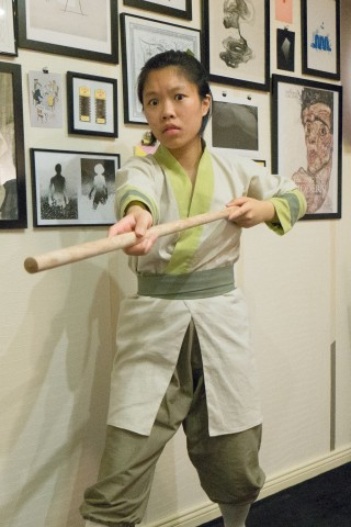 Mulan training outfit cosplay 1