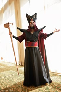 Roland's Forge Jafar Cosplay