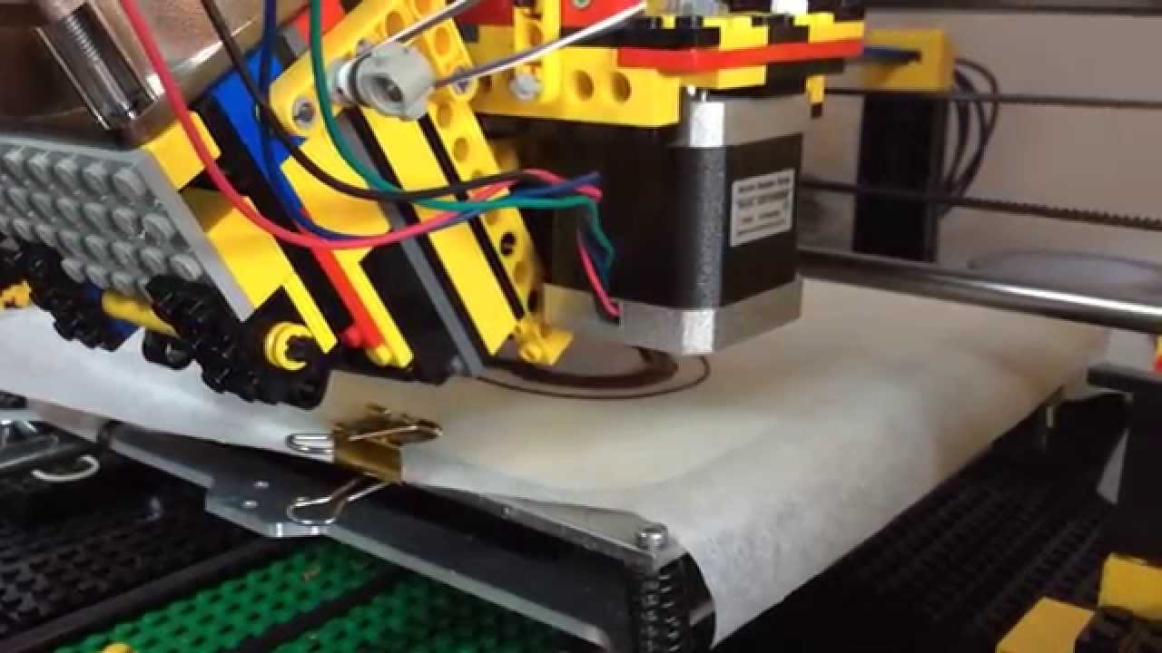 Behold, A 3D Chocolate Printer Made With LEGOS! « Adafruit ...