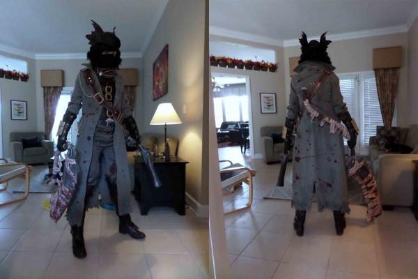 bloodborne hunter cosplay 1