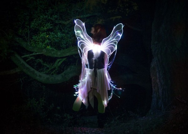 fiber optic fairy wings 1