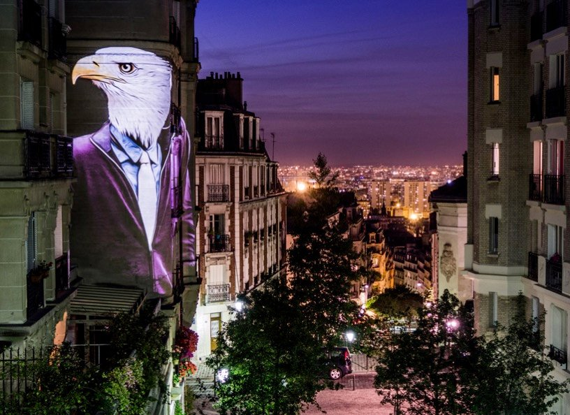 Julien nonnon urban safari hipster animals paris designboom 04