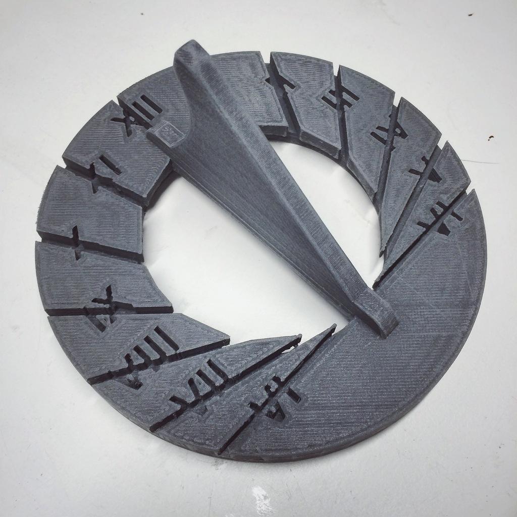 Sundail #3DThursday #3DPrinting « Adafruit Industries