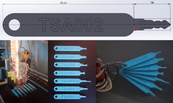 tsa keys