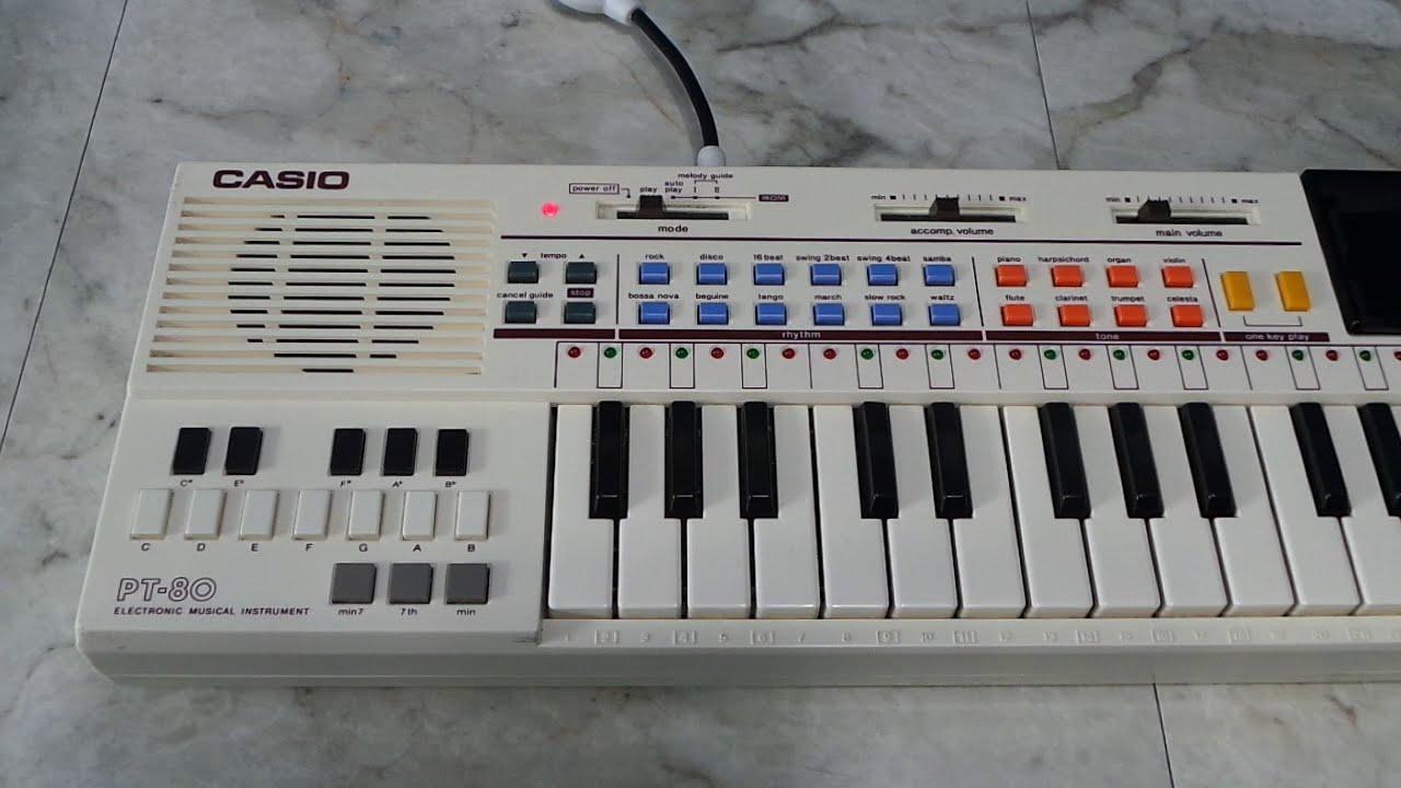 Vintage Casio Pt 80 Keyboard Review Amp Tear Down 171 Adafruit