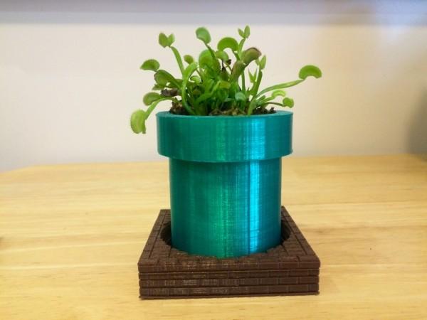 warp tube planter