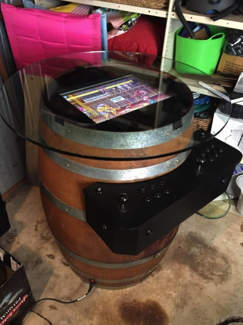 Wine barrel arcade cabinet 14 500x667